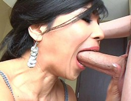 A Fucking Asian Whore Sucking Dick Like A Real Slut She Is